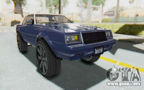 GTA 5 Willard Faction Custom Donk v1 para GTA San Andreas