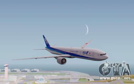 Boeing 777-300ER ZK-OKO - Smaug Livery para GTA San Andreas