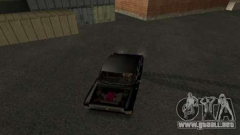 Moskvich 412 para visión interna GTA San Andreas