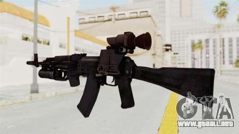 AK-74M v3 para GTA San Andreas segunda pantalla