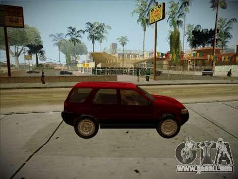 Ford Escape 2005 para GTA San Andreas vista hacia atrás