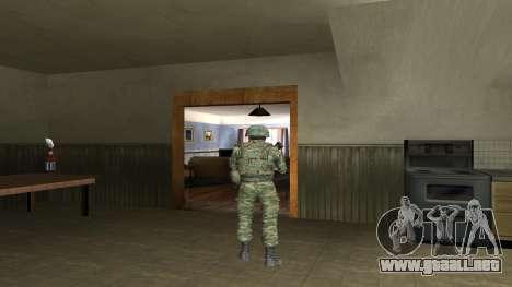 Cuerpo De Infantería De Marina De Combate para GTA San Andreas octavo de pantalla