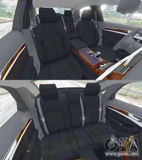 GTA 5 Audi A8 FSI 2010 volante
