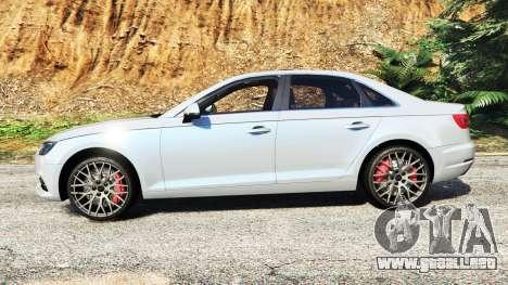 GTA 5 Audi A4 2017 v1.1 vista lateral izquierda