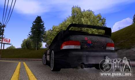 Subaru impreza 22B (SUICIDE SQUAD) para la visión correcta GTA San Andreas