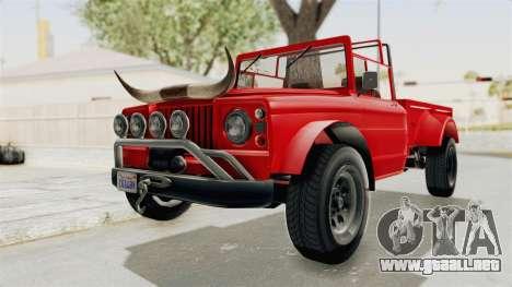 GTA 5 Canis Bodhi IVF para la visión correcta GTA San Andreas