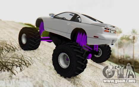 Nissan 300ZX Monster Truck para GTA San Andreas left