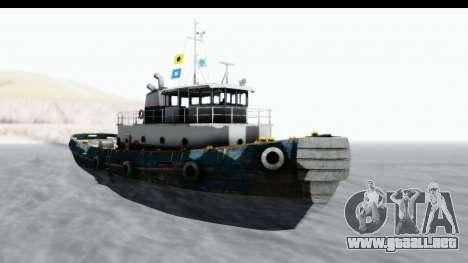 GTA 5 Buckingham Tug Boat v1 IVF para GTA San Andreas