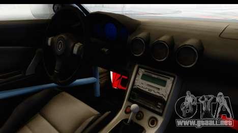 Nissan Silvia S15 Galaxy Drift v2.1 para vista lateral GTA San Andreas
