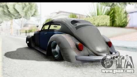 Volkswagen Beetle 1963 Hotrod para la visión correcta GTA San Andreas