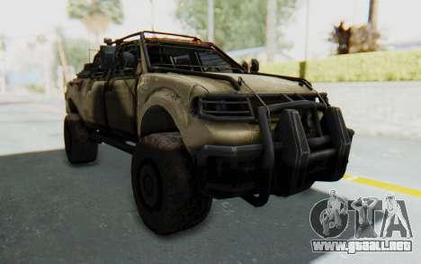 Toyota Hilux Technical Desert para la visión correcta GTA San Andreas