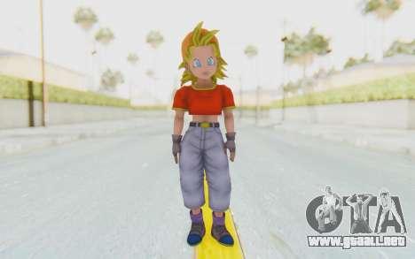Dragon Ball Xenoverse Pan SSJ para GTA San Andreas segunda pantalla