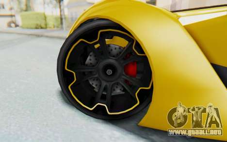 GTA 5 Grotti Prototipo v2 IVF para visión interna GTA San Andreas