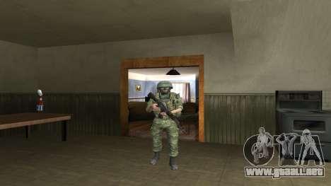 Cuerpo De Infantería De Marina De Combate para GTA San Andreas séptima pantalla