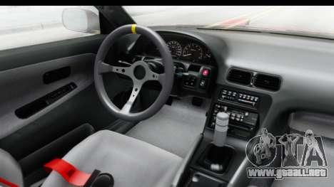 Nissan 240SX 1989 v1 para visión interna GTA San Andreas