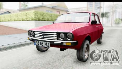 Dacia 1310 TLX v2 para la visión correcta GTA San Andreas