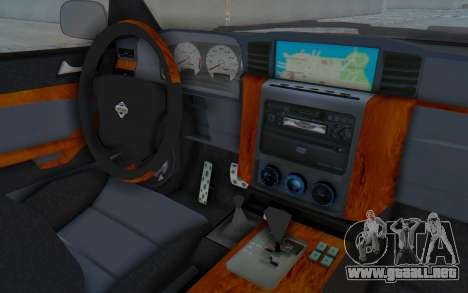 Nissan Patrol Y61 Off Road para visión interna GTA San Andreas