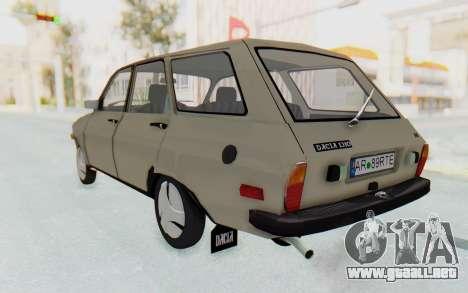 Dacia 1310 Break 1988 para GTA San Andreas left
