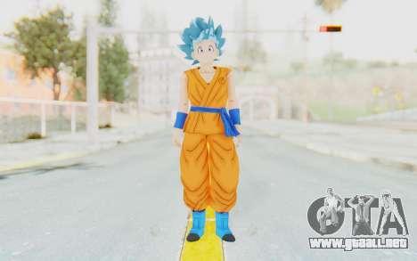 Dragon Ball Xenoverse Female Saiyan SSGSS para GTA San Andreas segunda pantalla