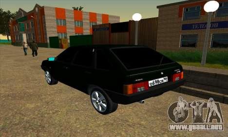 2109 v1.0 para la visión correcta GTA San Andreas