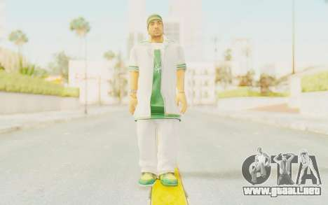 Def Jam Fight For New York - Sean Paul v2 para GTA San Andreas segunda pantalla