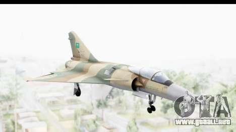 Dassault Mirage 4000 Royal Saudi Air Force para GTA San Andreas
