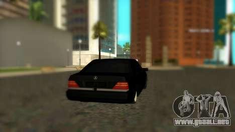 Mercedes-Benz S600 W140 AMG para GTA San Andreas left