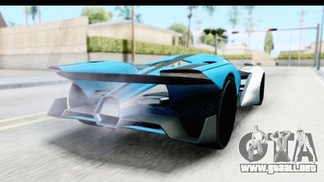 GTA 5 Grotti X80 Proto IVF para GTA San Andreas left