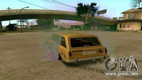BK VAZ 2102 v1.0 Drift para GTA San Andreas left