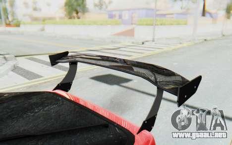 Mazda RX-7 FC3S BN Sport para la vista superior GTA San Andreas