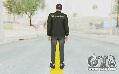 GTA Online Finance and Felony Skin 1 para GTA San Andreas tercera pantalla