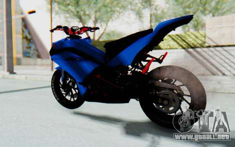 Yamaha Mx King 1000CC para GTA San Andreas left