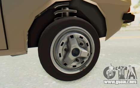Dacia 1310 TLX para GTA San Andreas vista hacia atrás