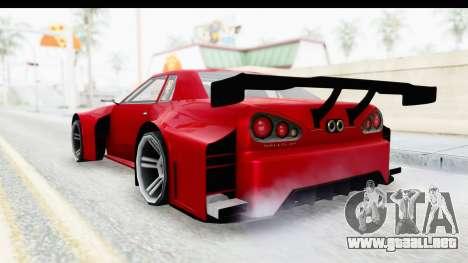 Elegy KraZ Edition Beta 0.8.5 para GTA San Andreas left