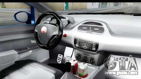 Fiat Linea 2014 Wheels para visión interna GTA San Andreas