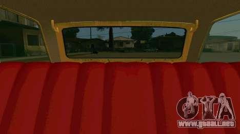 BK VAZ 2102 v1.0 Drift para la vista superior GTA San Andreas