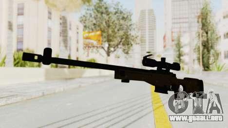 L96 para GTA San Andreas segunda pantalla