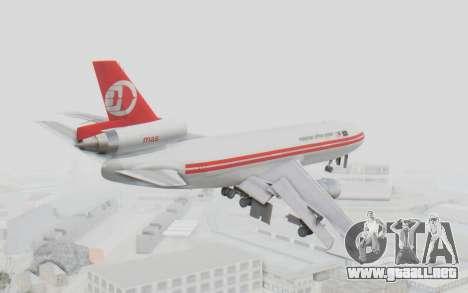 DC-10-30 Malaysia Airlines (Retro Livery) para la visión correcta GTA San Andreas
