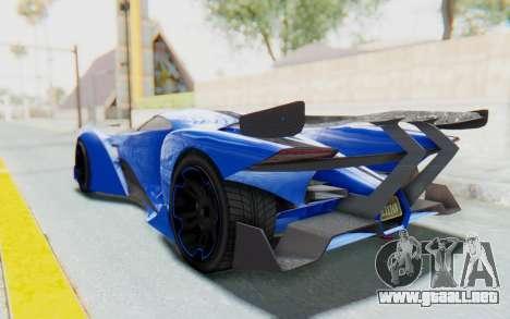 GTA 5 Grotti Prototipo v1 para GTA San Andreas left