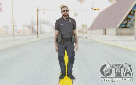 CoD BO2 LAPD v3 para GTA San Andreas segunda pantalla