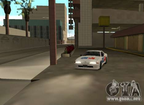 New vinyls for Elegy para GTA San Andreas left