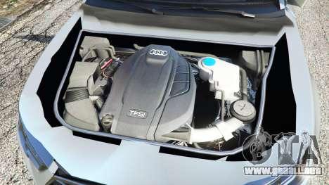 GTA 5 Audi A4 2017 v1.1 vista lateral trasera derecha