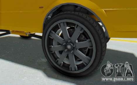 GTA 5 Willard Faction Custom Donk v1 IVF para GTA San Andreas vista hacia atrás