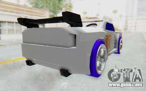 Hot Wheels AcceleRacers 3 para GTA San Andreas left