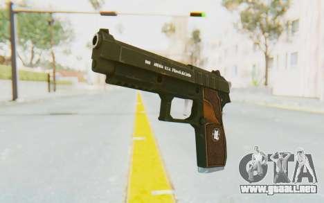 GTA 5 Hawk & Little Pistol para GTA San Andreas segunda pantalla