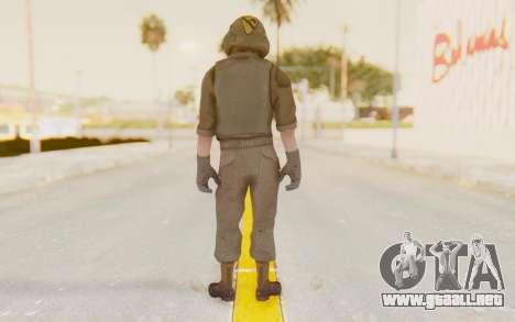 COD BO USA Pilot Vietnam para GTA San Andreas tercera pantalla
