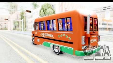 Dodge D600 v2 Bus para GTA San Andreas left