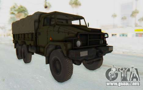 MGSV Phantom Pain BOAR 53CT Truck Roof para GTA San Andreas