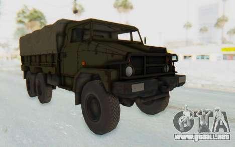 MGSV Phantom Pain BOAR 53CT Truck Roof para GTA San Andreas