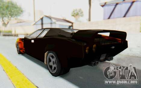 GTA VC Cuban Infernus para GTA San Andreas left